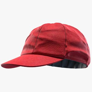 3D cricket cap model