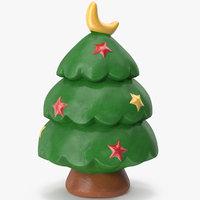 christmas tree figurine model