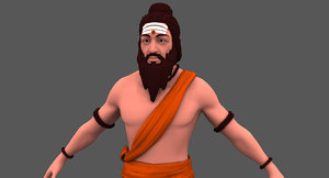 3D sage character