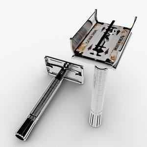 safety razor blade model