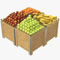 3D model real fruit display
