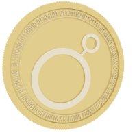 3D noku gold coin model
