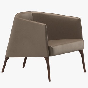 3D frigerio lounge chair model