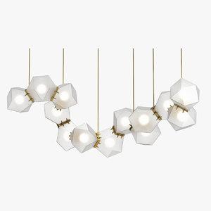 gabriel scott chandelier 3D model