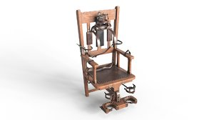 electric chair 3D model