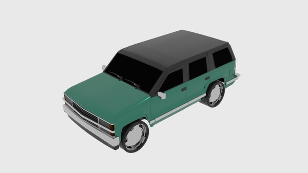 gmt 400 suv 3D model