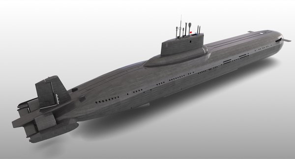 typhoon class project 3D