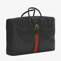3D gucci luggage
