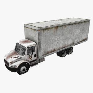 abandoned truck car 3D model