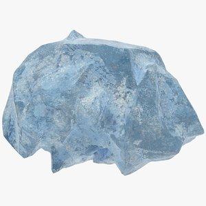 ice boulder 3D model