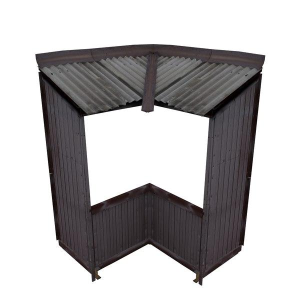 3D balcony metais 01 71 model