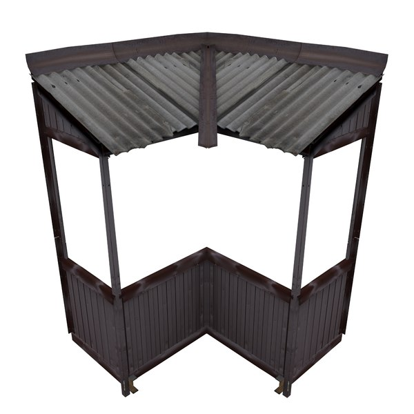 balcony metais 01 73 3D model