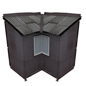 3D balcony metais 01 74 model