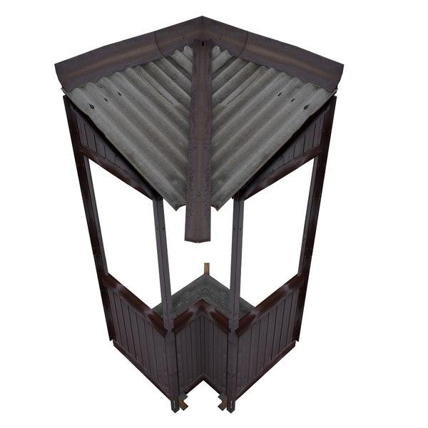 balcony metais 01 75 3D model