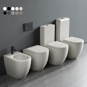 toilet smile bidet 3D model