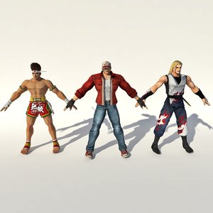 3D king fighter fatal fury