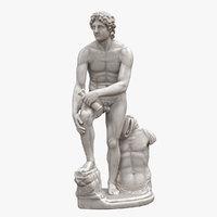 rondanini alexander statue 3D