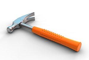 hammer tool industry 3D model