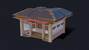 zen future town house 3D model