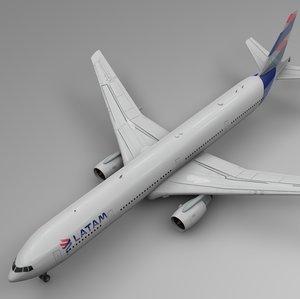latam boeing 777-300er l549 3D model