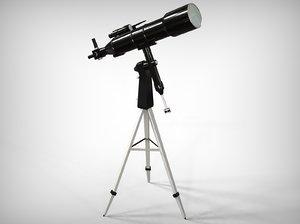 telescope blender 3D