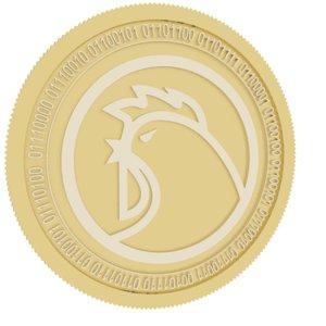 3D ondori gold coin