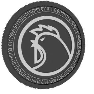 3D model ondori black coin