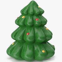 christmas tree figurine 2 3D