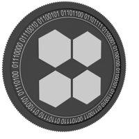 oneledger black coin 3D