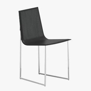 3D ivanoredaelli phil chair
