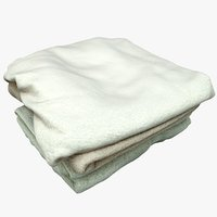 towels games 3D model