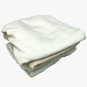 towels games 3D model
