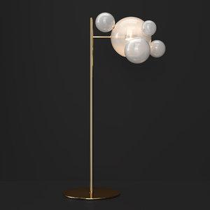 3D giopato bolle bubble model
