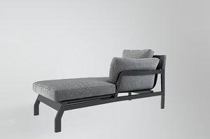 italian cassina modern chaise longue model