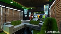 3D 9 smart playstation club model
