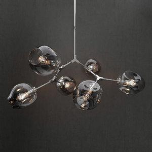3D branching bubble lamp