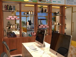 salon massage spa 3D
