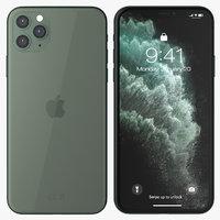 iphone 11 pro midnight 3D model