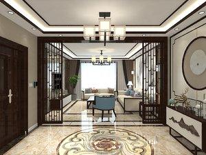 interior living room merged 3D