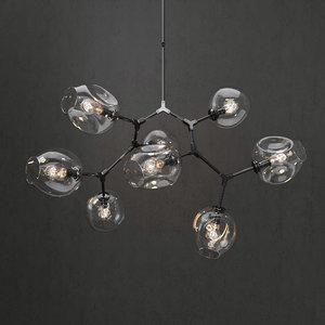 branching bubble lamp model