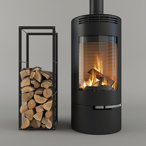 fireplace thorma andorra 3D model