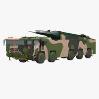 Chinese DF-17 Missile