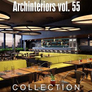 archinteriors vol 55 interiors 3D model