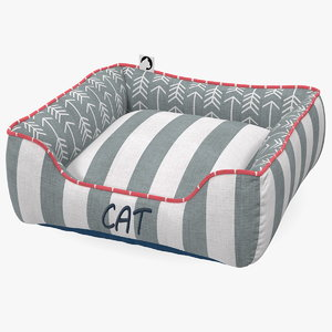 cat bed 3D