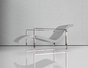 3D luxury chair design model
