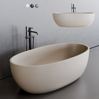 Esedra by SDRCeramiche Bull Bathtub