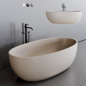 bull bathtub 3D model