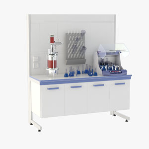3D laboratory table 5