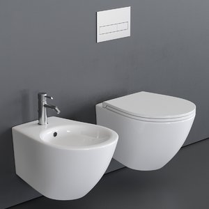 toilet bull 500 3D model