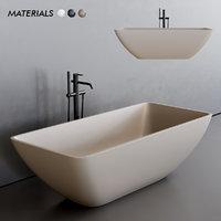 3D model quadra bathtub
